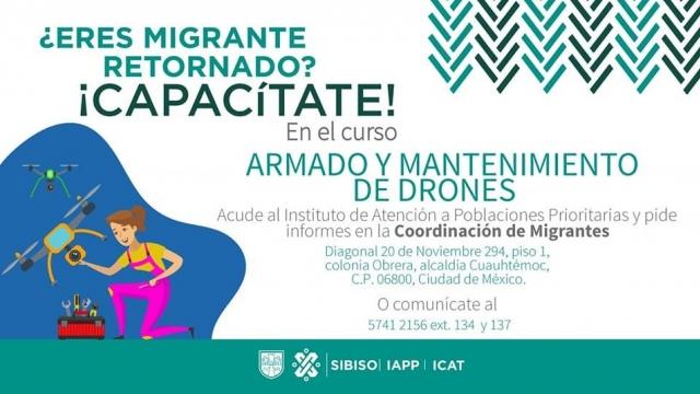 Armado y mantenimiento de drones