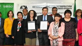 Firman SIBISO y la UAM-Xochimilco Convenio de colaboración para atender a los grupos sociales más vulnerables