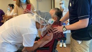 Apoyo SIBISO con traslados de Personas Adultas Mayores a Unidades Vacunadoras contra COVID-19